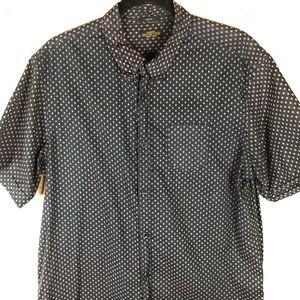 AllSaints Slim Fit Cotton Shirt A18